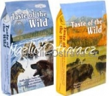 Taste of the Wild Pacific Stream Puppy 12,2 kg + High Prairie Puppy 12,2 kg