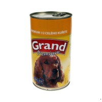 Grand 1150g+20% extra 1/2 kuřete dog