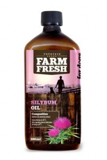 Farm Fresh Ostropestřecový olej /Silybum Oil/ 500 ml