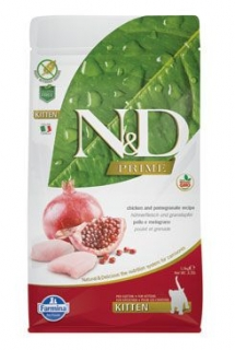 N&D PRIME CAT KITTEN Chicken & Pomegranate 1,5kg