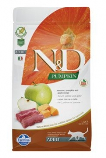 N&D Pumpkin CAT Venison & Apple 300g