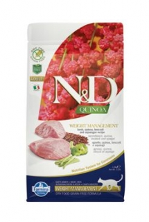 N&D Quinoa CAT Weight Management Lamb & Broccoli 1,5kg