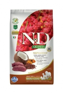 N&D Quinoa DOG Skin & Coat Venison & Coconut 2,5g