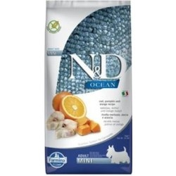 N&D OCEAN DOG Adult Mini Codfish&Pumpkin&Orange 7kg