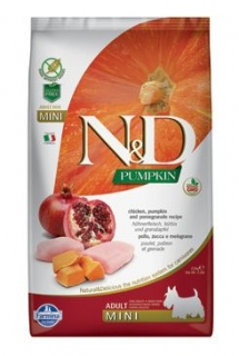 N&D Pumpkin DOG Adult Mini Chicken&Pomegranate 800g